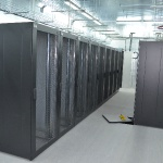 Серверная 120 м2 ДСП с ПВХ покрытием на стрингерах