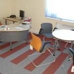 Офис, укладка ковролина